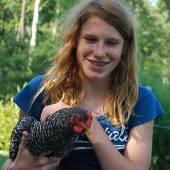 Holding Chicken